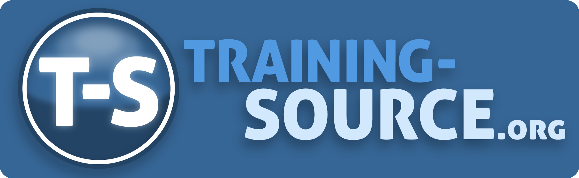 Training Source dot org learning management system logo